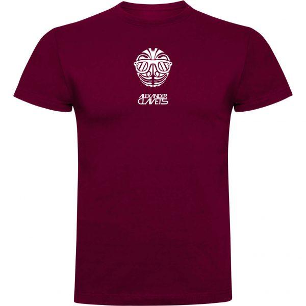 Camiseta Clavets granate