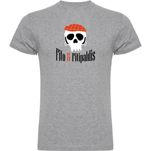 Camisetas divertidas Fito y Fitipaldis gris