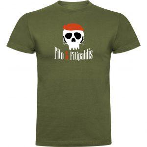Camisetas divertidas Fito y Fitipaldis verde militar