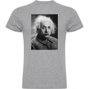 Camiseta Albert Einstein gris