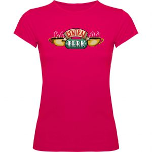 Camiseta de mujer Central Perk fucsia