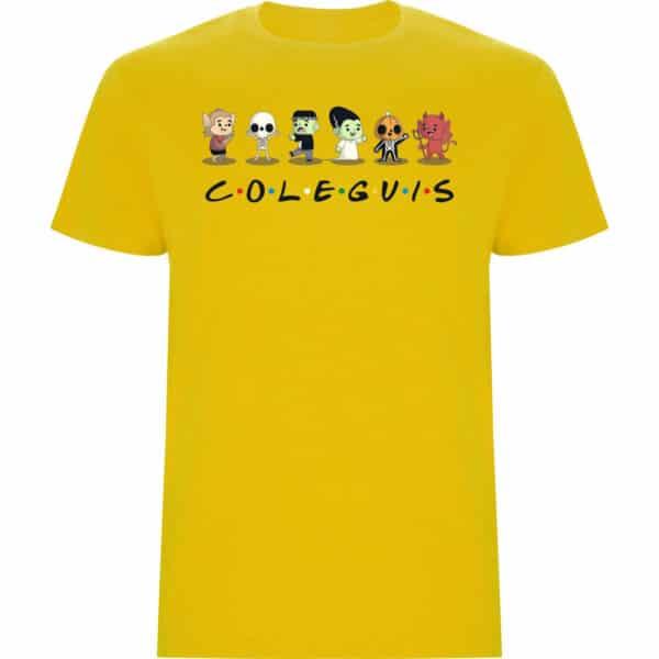 Camiseta Coleguis amarillo