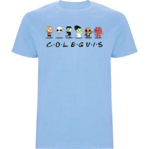 Camiseta niño Coleguis (Friends) celeste