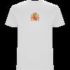 Camiseta España con Ñ 2 caras DELANTERA BLANCA
