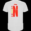 Camiseta España 2 caras TRASERA BLANCA