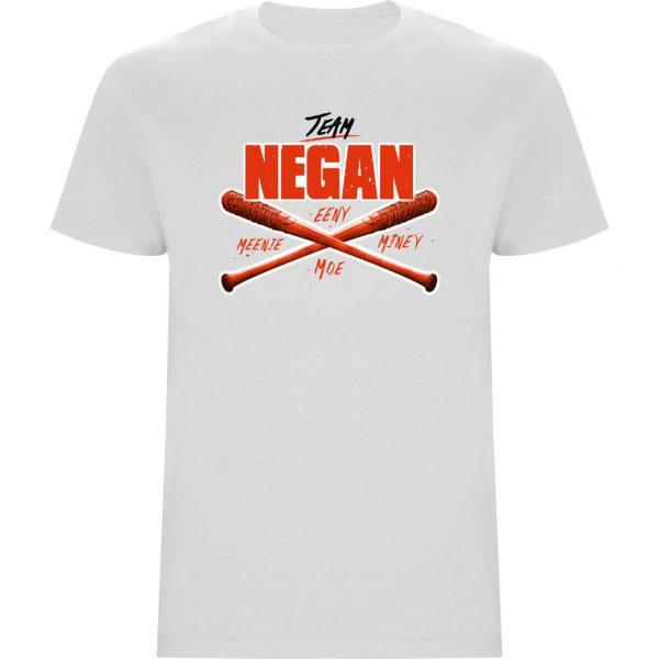 Camiseta Negan Team Blanca