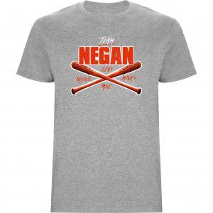 Camiseta Negan Team Gris