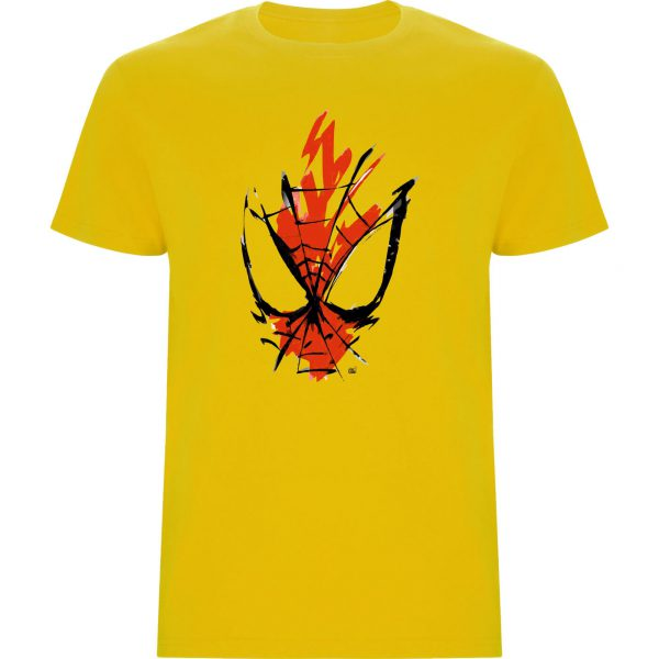 Camiseta Spiderman amarillo