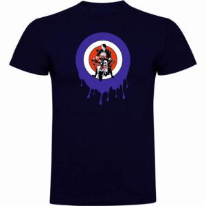 Camiseta Mod LambrettaAZUL NAVY MOD