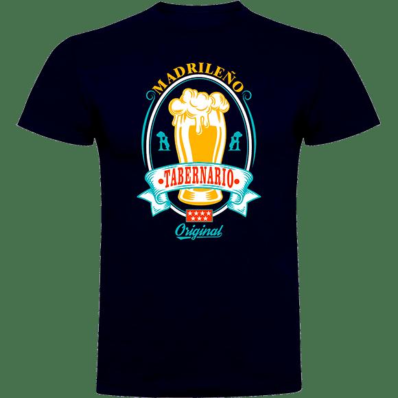 Camiseta madrileño tabernario verde oliva (1) (1)
