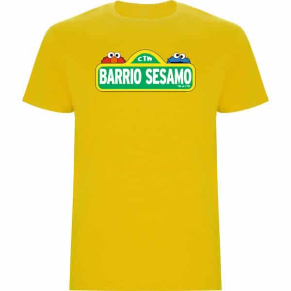 camiseta de niño barrio Sésamo amarillo