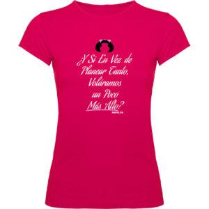 Camisetas mujer mafalda fucsia