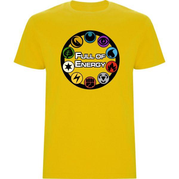 CAMISETAS FULL ENERGY POKEMON amarillo