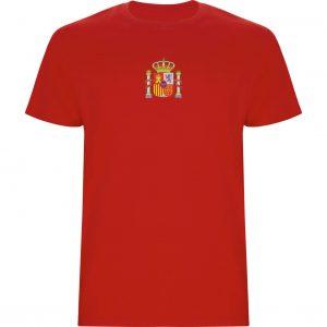 Camiseta España con Ñ 2 caras DELANTERA ROJA