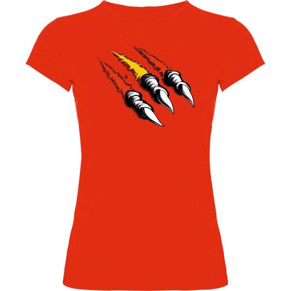 Camiseta Garra Española mujer rojo