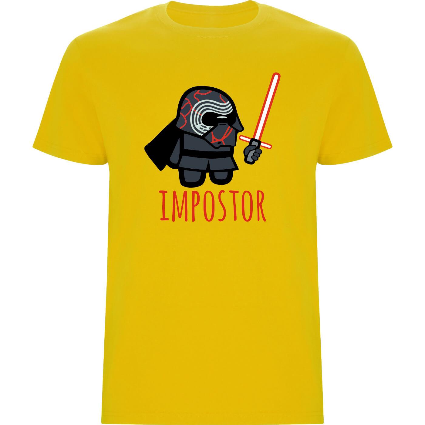 Camiseta niño KYLO REN impostor amarillo
