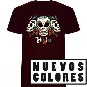 Nuevos colores camisetas maghu calaveras mexicanas